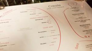 Androuet menu