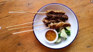 Mixed satay