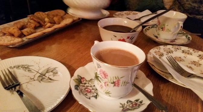 Indian high chai at Dhaba Lane