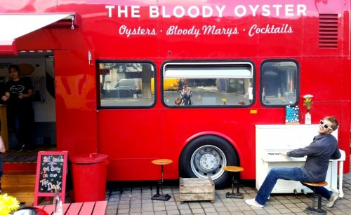 the bloody oyster